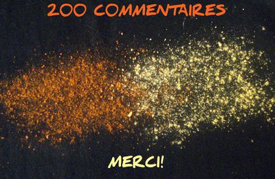 200 Commentaires