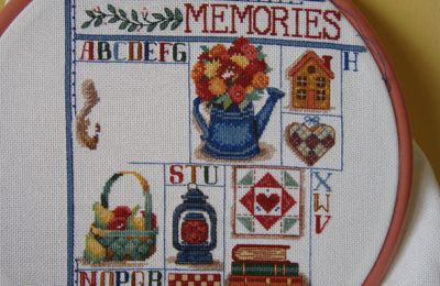 Broderie : Beary Sweet Memories