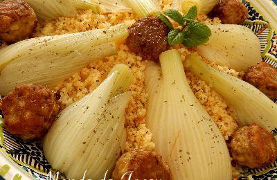 Couscous mit Fenchel