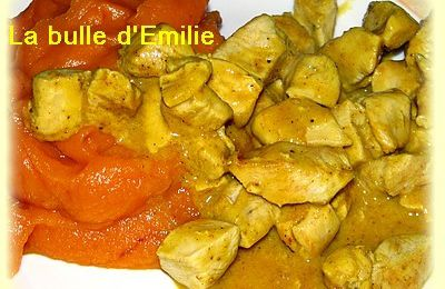 Curry de poulet Dukan