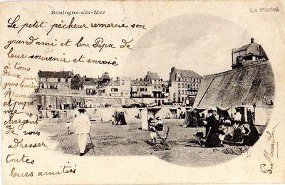 CPA - Boulogne-sur-Mer - Le Portel