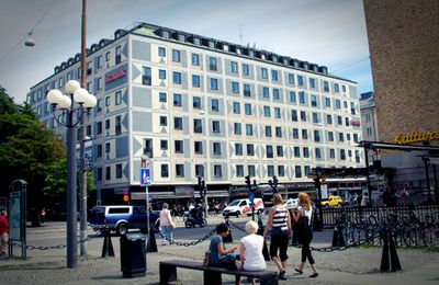 Stockholm hotel offers free haven for creative souls