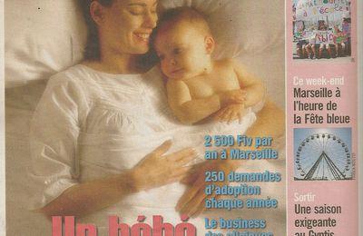 """""""La vie en rond"""", parue dans Marseille L'Hebdo du 23/06/09"""