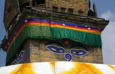 Swayambhunath ou Monkey Temple en version touristique