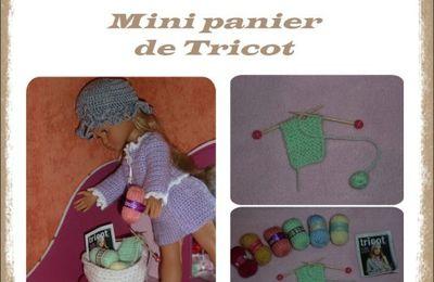 "Mon petit panier tricot "" L """