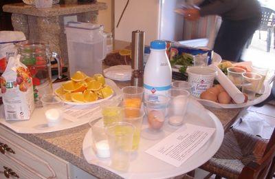 Atelier culinaire Superbol chez Martine