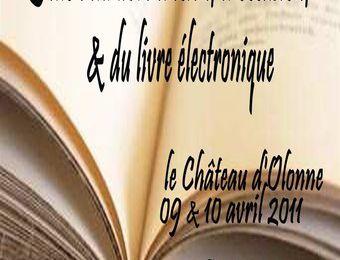 Salon du livre ancien et d'occasion a Olonne le 9 avril 2011