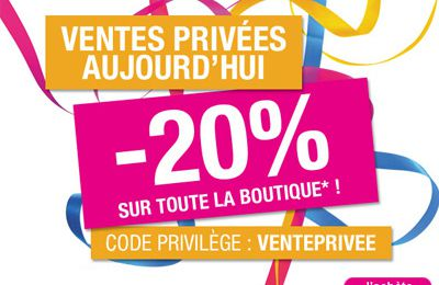 Ventes privées The Body Shop les 10 et 11 sept. 2011