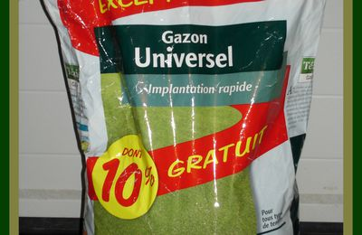 Super Lot Sac Gazon Universel + Bordure Gazon - NEUFS - 75%