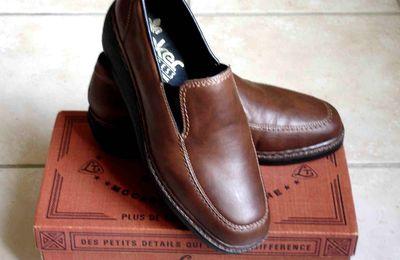 Chaussures Compensées Tout Cuir Anti-Stress RIEKER 37,5/38 Etat NEUF!