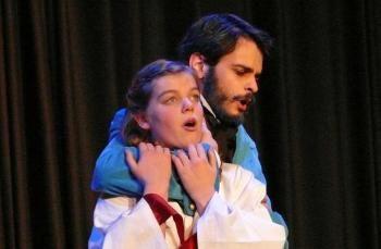 Perrault réen-chanté : Douce et Barbe-Bleue, un opéra d'Isabelle Aboulker.