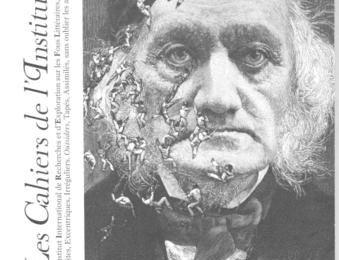 La couverture du N°01 des Cahiers de l'Institut, par André Stas