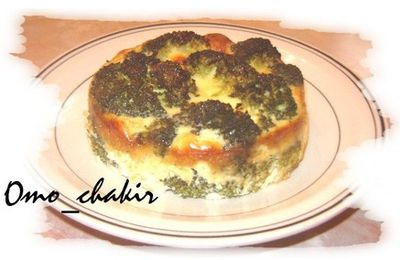 Mini-quiche au brocoli