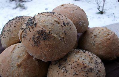 Petits pains quinoa & multicéréales