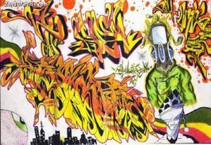 q contiene la palabra grafitis