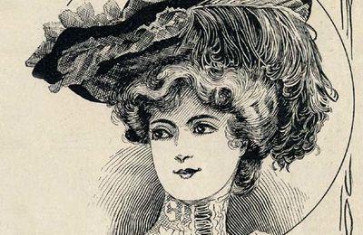 chapeau rond 1902