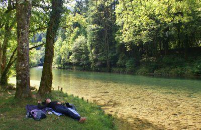 Doubs : Au bord de la Loue