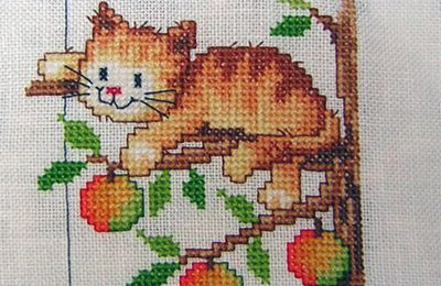 SAL Calendrier chatons : Septembre