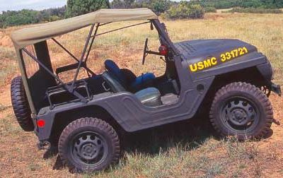 Mighty mite M422 : the earlier nam jeep