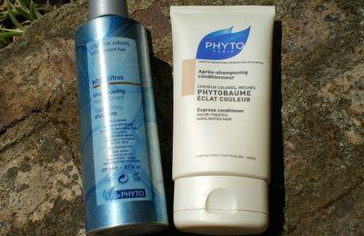 Review: shampooing Phytocitrus et Phytobaume éclat couleur