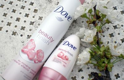 Les déos Beauty Finish par Dove