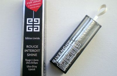 Rouge Interdit Shine de Givenchy