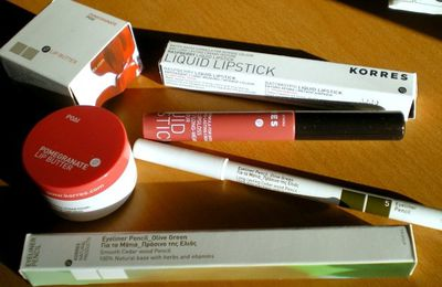 Review: Mon maquillage Korres