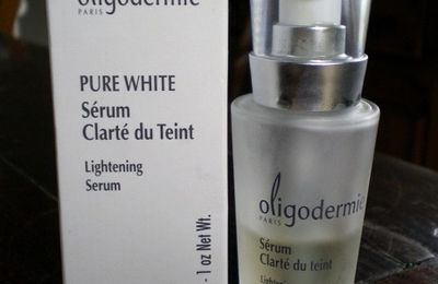 Review: Oligodermie Pure white sérum Clarté du teint