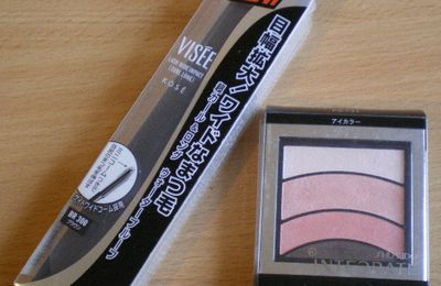 Review: InteGrate Dramatic Deep Eyes & Visee Wide Impact Mascara