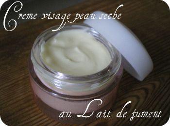 Recette: Crème visage peau sèche et crème buste au Lait de Jument