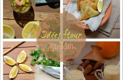 Idées menu pour le ftour