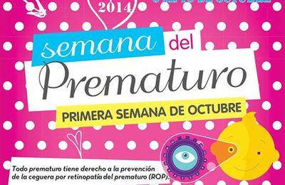Semana del Prematuro, del 4 al 11 de octubre