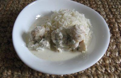 Filets de merlan à la vanille