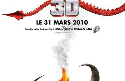 Affiche Française + Trailer (HD) pour le film d'animation Dragons