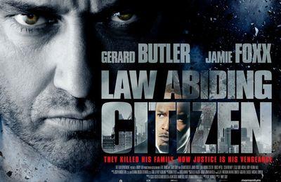 Deux Affiches anglaise pour le thriller Law Abiding Citizen