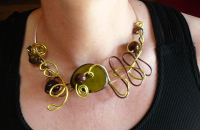 "Le Collier ""Citronnelle"""