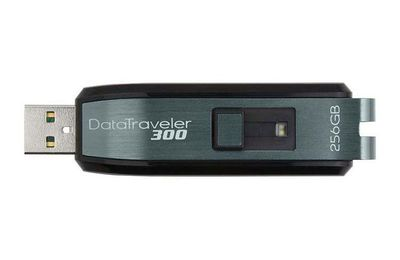 Kingston Datatraveler 300 et LaCie Clefs USB