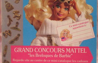Catalogue Mattel-Barbie 1993