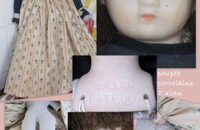 Poupée porcelaine Zasan à la vente