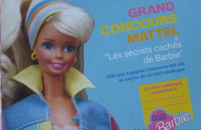Catalogue Barbie Mattel 1994