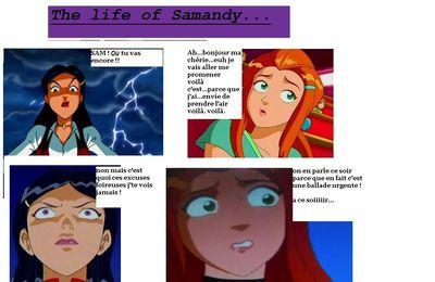 The life of Samandy (aucun lien avec l'autre BD)