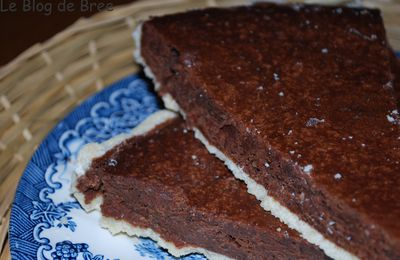 De blogs en blogs : la tarte chocolat amande