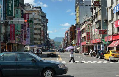 Ma vie quotidienne à Taipei
