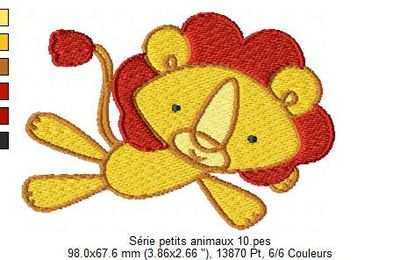 Serie petits animaux 10