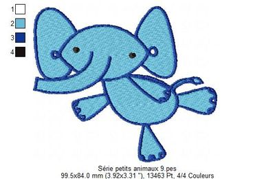 Serie petits animaux 9