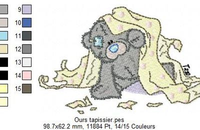 Ours tapissier