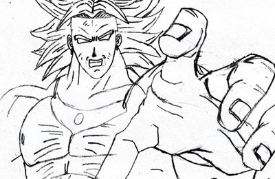 Broly: vieux dessin