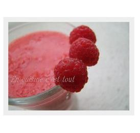 Smoothie framboises-nectarines