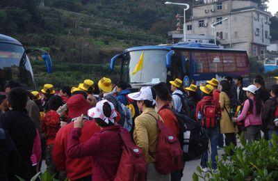 Samedi 24 octobre (黄山 (les montagnes jaunes, huang shan))