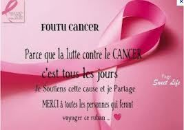 Ruban rose = cancer du sein